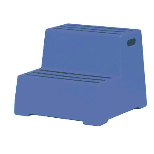 Plastic Safety Step 2 Tread Blue 325095