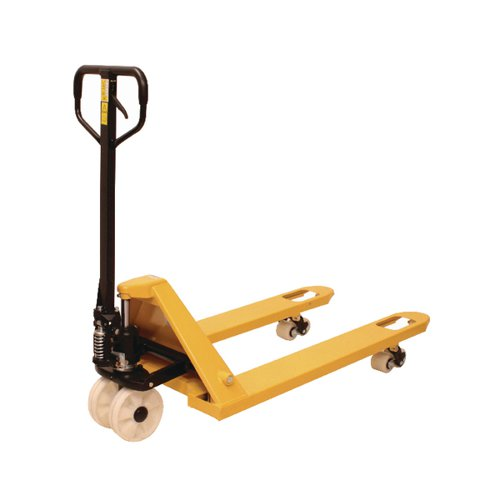 Hand Pallet Truck 685x1220mm 2500kg Yellow (Fork length 1220mm) 328200
