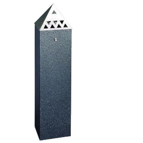Pyramid Top Tower Bin 6.6 Litre Black 329260