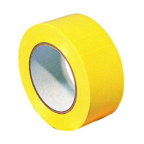 Lane Marking Tape Carton of 18 Rolls Yellow (Pack of 18) 329596