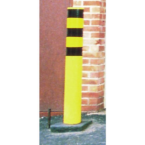 Steel Outdoor Safety Bollard Yellow 330133