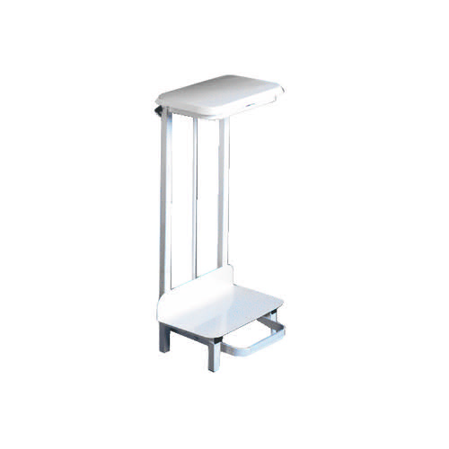 Pedal Operated Sack Holder Freestanding 17 Litre White 330306