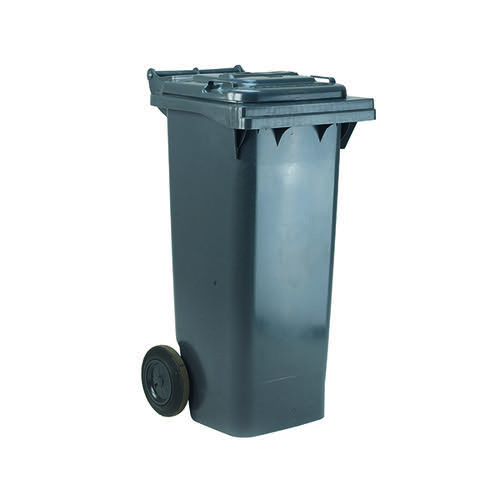 Wheelie Bin 120 Litre Grey (W480 x D555 x H930mm) 331110