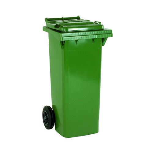 Wheelie Bin 140 Litre Green (W480 x D555 x H1070mm) 331150