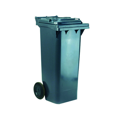 Wheelie Bin 240 Litre Grey (W580 x D740 x H1070mm) 331183