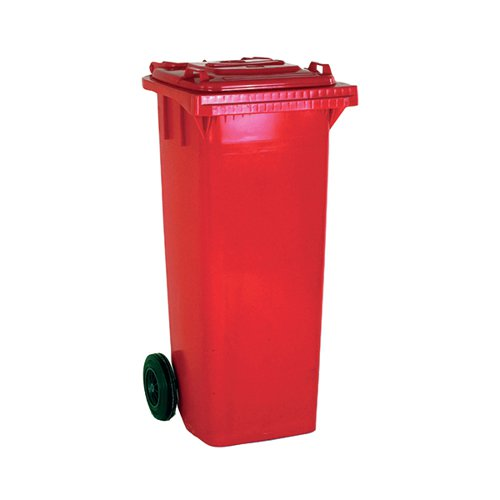 Wheelie Bin 80 Litre Red (W445 x D525 x H930mm made from UV stabilised polyethylene) 331270