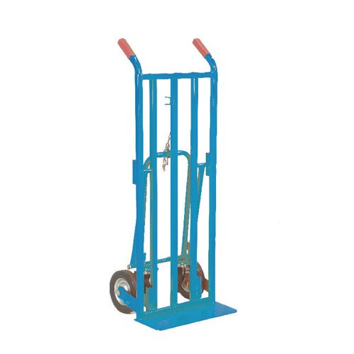 Red 3 Position Handtruck (250kg Capacity Platform L1115 x W470mm) 354877