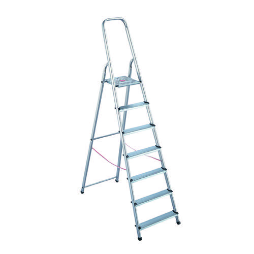 Aluminium Step Ladder 8 Step (Platform sits 1620mm Above the Floor) 4050101