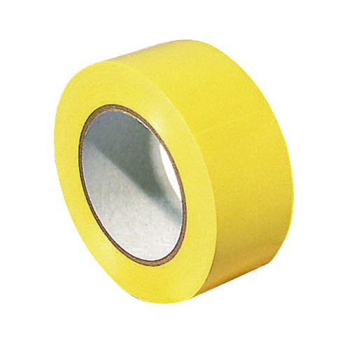 VFM Yellow Lane Marking Tape 33m (Pack of 6) 372877