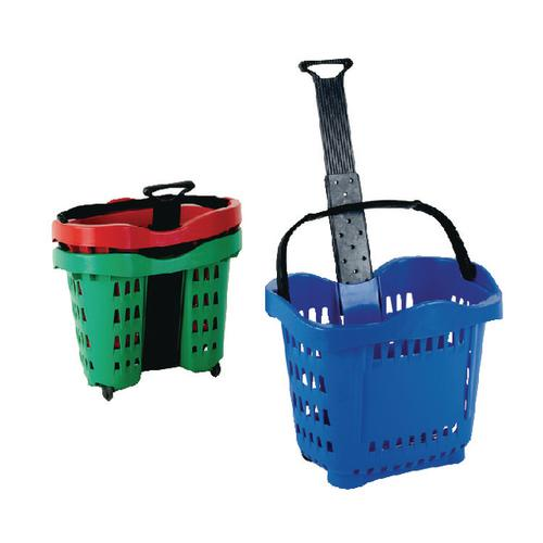 Giant Shopping Basket/Trolley Blue SBY20754