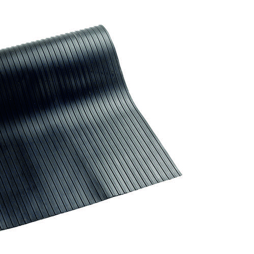 VFM Broad Ribbed 3mm Matting 900mmx10m Black 378749