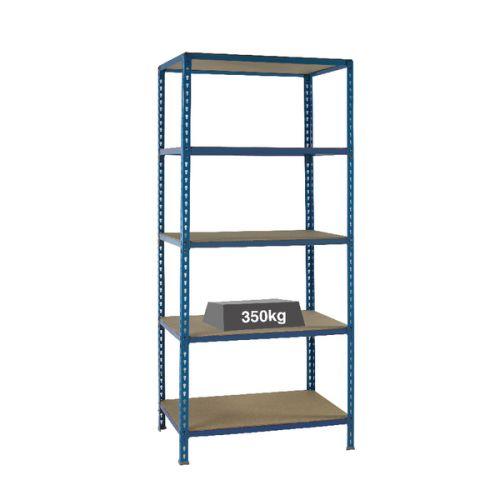 Medium Duty Bays Shelf Size 900x400mm Blue 379623