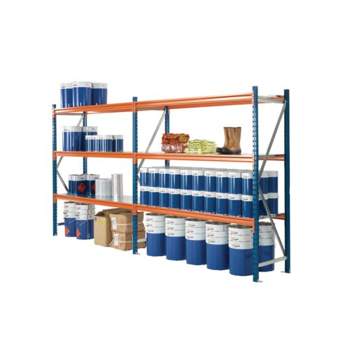 Quickspan Frame 2000X600mm Fully Assembled Blue 379823
