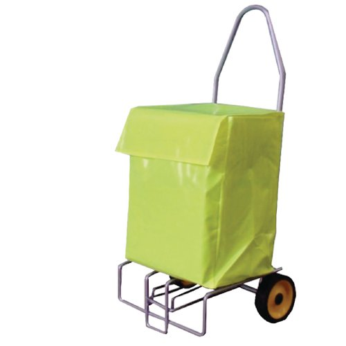 Folding Tubular Steel Mail Trolley (100kg capacity) 383472