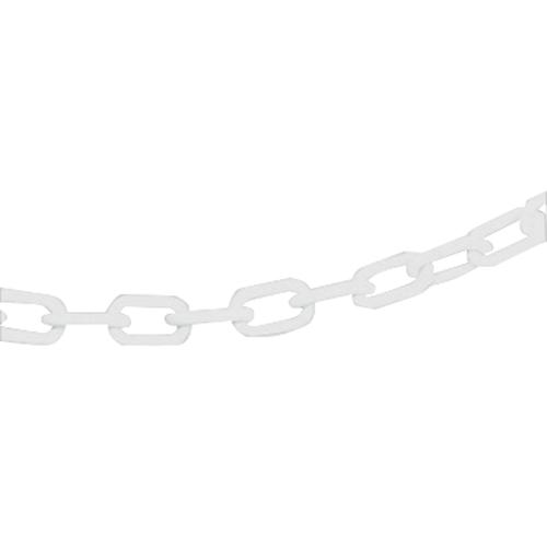VFM White Multi-Post 6mm Short Link Plastic Chain 25m 313465