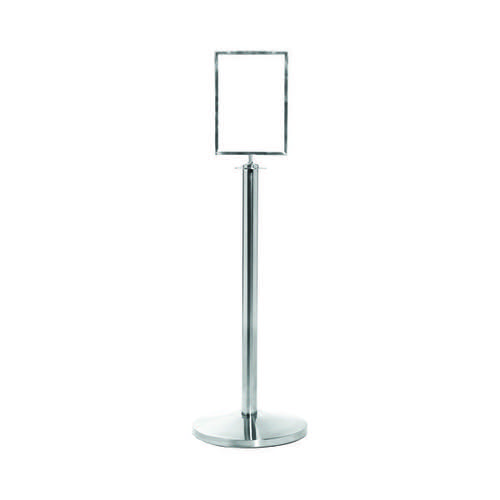 VFM Flat Top Post and Sign Holder Silver 399898