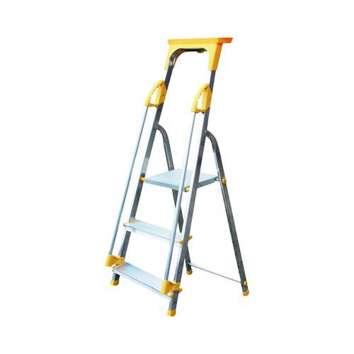 Aluminium Safety Platform Steps 3 Tread 405011