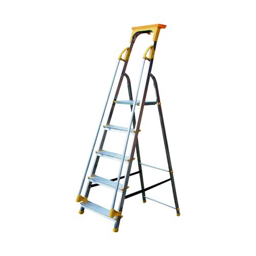 Aluminium Safety Platform Steps 5 Tread 405013