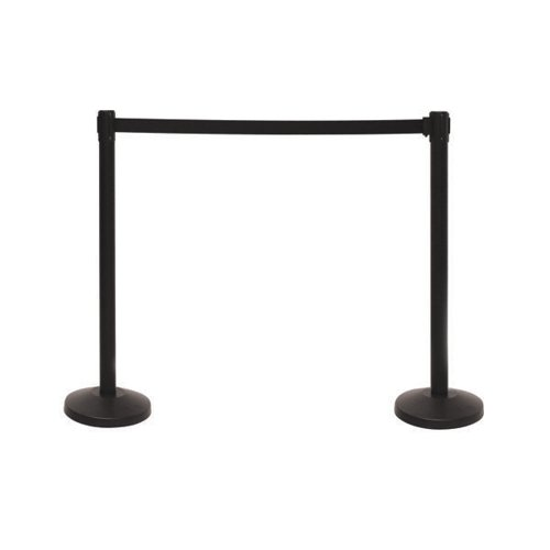 VFM Barriers with 3.4m Belt Blk (Pack of 2) 421934