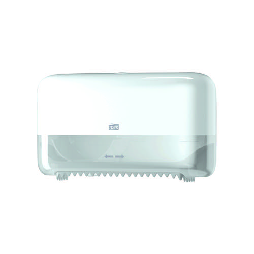 Tork T7 Coreless Mid-Size Toilet Paper Dispenser Blue 558040