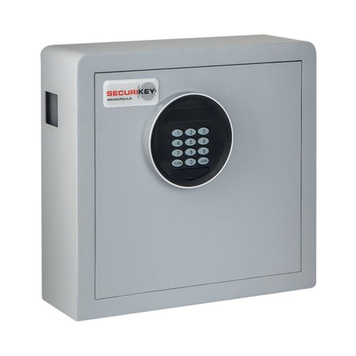 Securikey Electronic Key Safe 38 Key Cabinet Grey KZ038-ZE