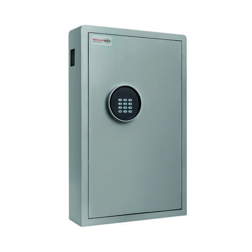 Securikey Electronic Key Safe 120 Key Cabinet Grey KZ120-ZE