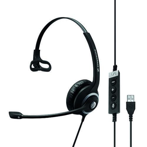 Sennheiser SC230 USB MSII Monaural Headset Black 506482