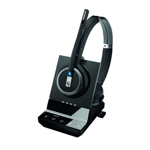 Sennheiser SDW5066 DECT Triple Connectivity Headset Black 507023