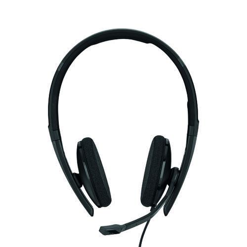 Sennheiser SC160 USB Binaural Headset Black 508315