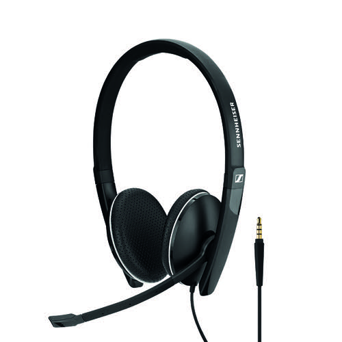 Sennheiser USB SC165 Binaural Headset Black 508317