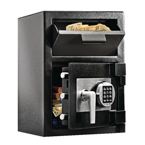 Master Lock Deposit Under Counter Safe 26.6 Litres Black DH-074E