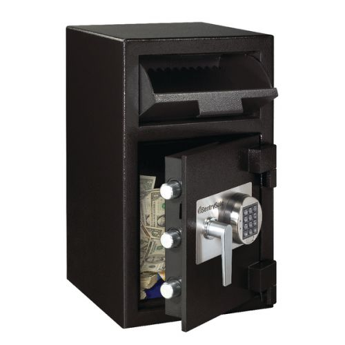 Master Lock Deposit Under Counter Safe 36.8 Litres Black DH-109E