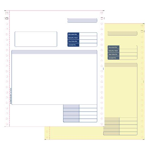 Custom Forms Sage 2 Part Dot Matrix Invoices (Pack of 1000) SE02