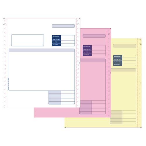 Custom Forms Sage 3 Dot Matrix Part Invoices (Pack of 750) SE03