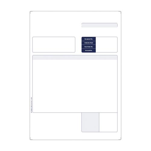 Custom Forms Sage 1-Part A4 Laser Invoices 90gsm (Pack of 500) SE80S