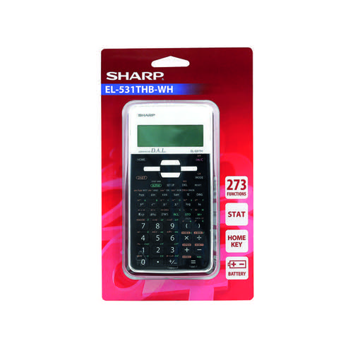 Sharp EL-531XH Scientifc Calculator Black EL531XBWH