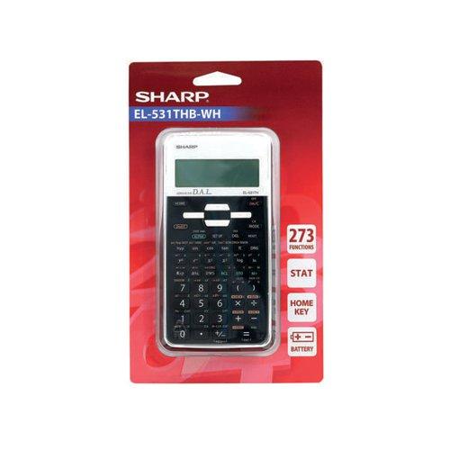Sharp EL-531XH Scientifc Calculator Black EL531XBWH - SH04575