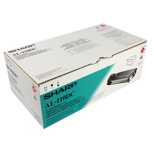 Sharp Black Toner Cartridge (4000 Page Capacity) AL110DC