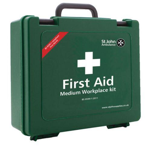 St John Ambulance Workplace First Aid Kit Medium 25-50 Person F30608