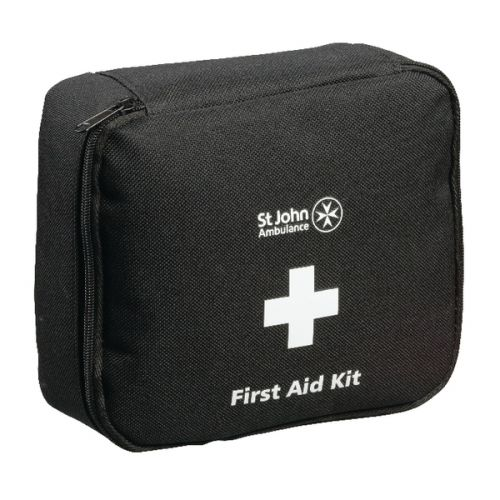 St John Ambulance Motor Vehicle First Aid Kit Medium Black F30801