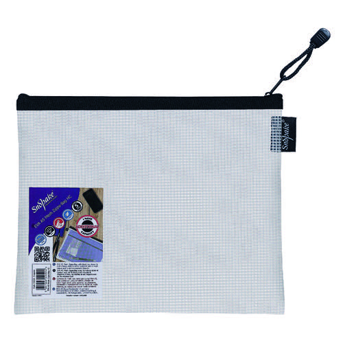 Snopake Eva Mesh Zippa Bag A5 (Pack of 3) 15838