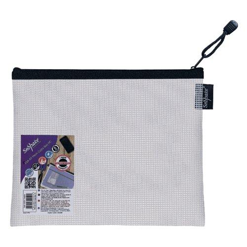 Snopake Eva Mesh Zippa Bag A5 (Pack of 3) 15838