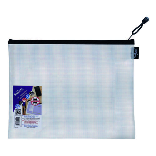 Snopake Eva Mesh Zippa Bag Foolscap (Pack of 3) 15839