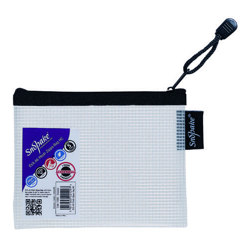 Snopake Eva Mesh Zippa Bag A6 (Pack of 3) 15856