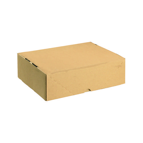 Carton With Lid 305x215x100mm Brown (Pack of 10) 144667114