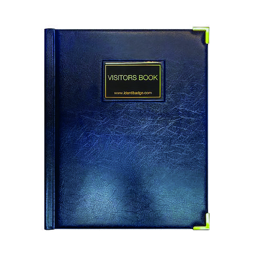 Identibadge GDPR Visitor Book with Binder IBVB-GDPR