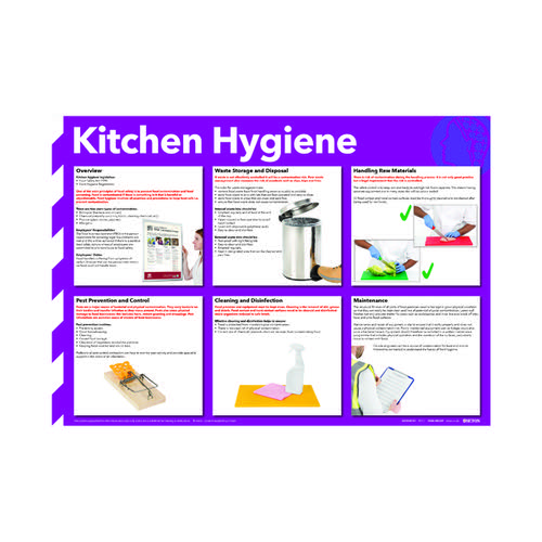 Kitchen Hygiene Poster 420x594mm FA607