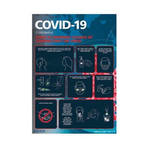 Covid-19 Steps To Minimise S/A Vinyl A3 FA062A3SAV