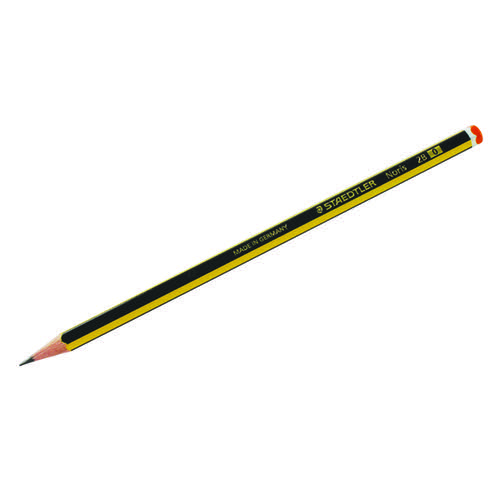 Staedtler Noris 120 2B Pencil (Pack of 12) 120-2B