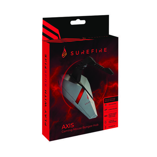 SureFire Axis Gaming Mouse Bungee Hub 48814